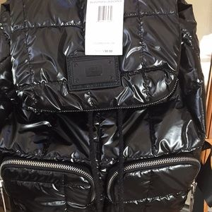 Steve Madden quilted backpack NWT